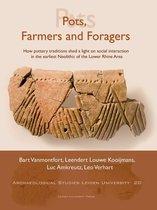 Boekomslag van 'Pots, Farmers and Foragers'