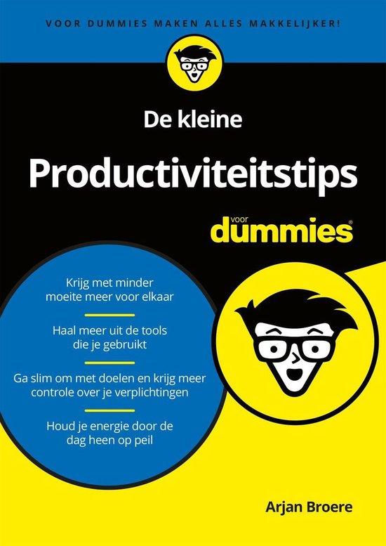 Voor Dummies - De kleine Productiviteitstips voor Dummies - Arjan Broere |
