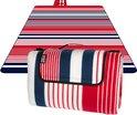 TravelMore XXL Opvouwbaar Picknick Kleed - Waterdicht - Gewatteerd -  200 x 200 cm