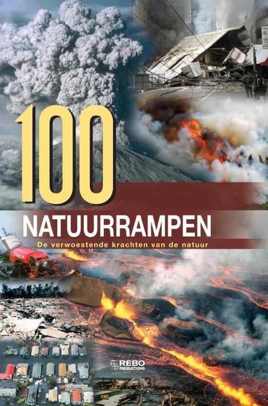 Cover van het boek '100 Natuurrampen van de wereld' van  Nvt
