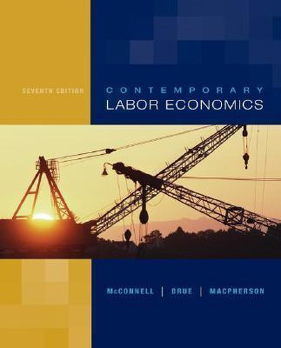 Boek cover Contemporary Labor Economics van Campbell R. Mcconnell (Hardcover)