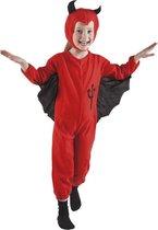 Halloween Schatig duiveltje - Kostuum - Maat 3-4 jaar