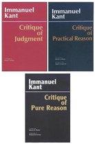 Three Critiques, 3-volume Set: Vol. 1: Critique of Pure Reason; Vol. 2: Critique of Practical Reason; Vol. 3