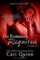 Boek cover No Romance Required van Cari Quinn (Onbekend)
