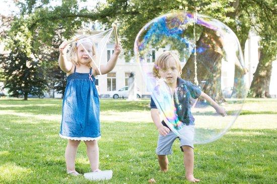 BS Toys Grote Bellenblaas - Hout en touw