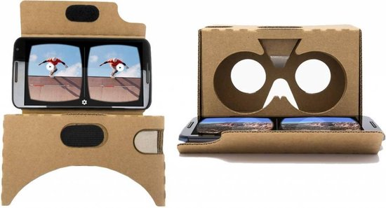 Google Cardboard V2 - Versie 2 van de optimale Virtual Reality Ervaring!