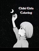 Chibi Girls Coloring