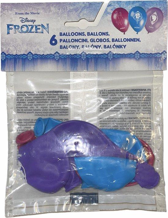 Disney Frozen  ballonnen   Frozen ballonnen  6 x 28 cm