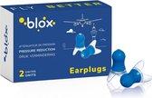 Blox Vliegtuig - 1 paar - Oodopjes voor volwassene - Gehoorbescherming - Hypoallergeen - Thermisch gevormde siliconen - Verlagen en regelen de luchtdruk