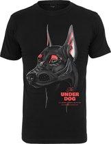 Heren T-Shirt Air Dog Tee zwart