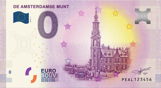 Afbeelding van het spel 0 Euro Biljet 2019 - De Amsterdamse Munt