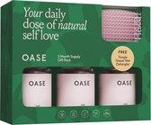 OASE Hair Vitamins - Vegan Soft Gums™ - 3 Month Gift Pack - Gratis Tangle Teezer Wet Detangler