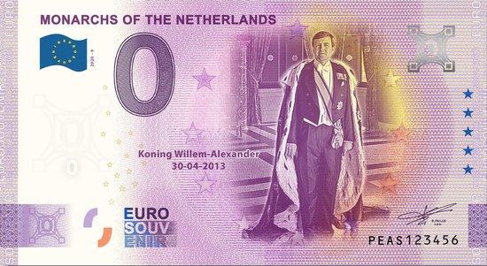 Afbeelding van het spel 0 Euro Biljet 2020 - Vorsten van Nederland - Koning Willem-Alexander