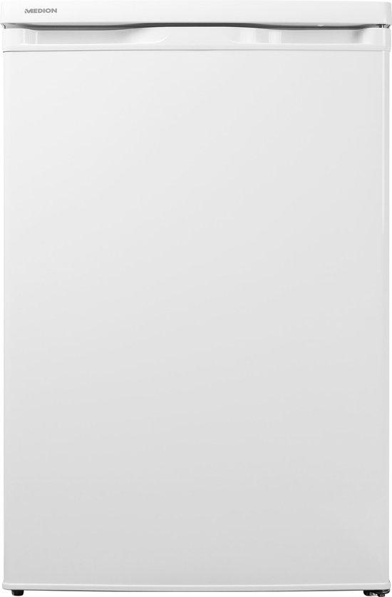 Koelkast: MEDION MD13854 - Tafelmodel koelkast   130 Liter   A++   Geluidsniveau: 41 dB   Jaarlijks energieverbruik: 91 kWu, van het merk MEDION