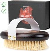 Dry Brush Droogborstel Anti Cellulite Badborstel Hout Lichaamsborstel - Huidborstel Badkamer Accessoires - Premium Borstel Balneo®