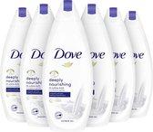 Dove Deeply Nourishing Douchecrème - 6 x 225 ml - Voordeelverpakking