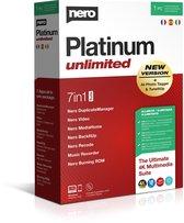 NERO Platinum Unlimited (Meertalig/Version Multilingue)