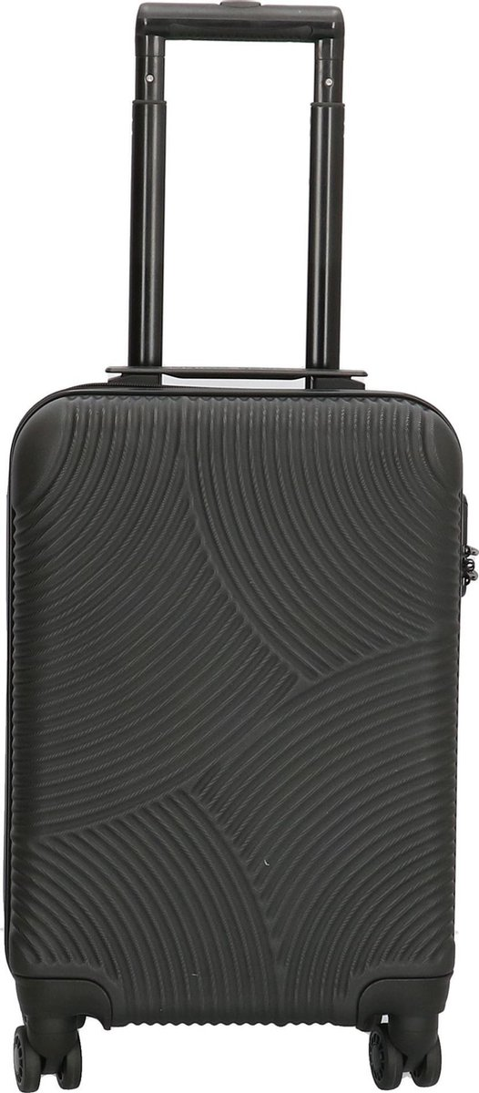Enrico Benetti Louisville 39040 Handbagage koffer hardcase ABS - Zwart