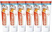 Elmex Peuter (0 tot 5 jaar) Kindertandpasta 6 x 75ml - Voordeelverpakking