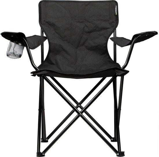 Abbey Camp - Campingstoel - Vouwstoel - Zwart