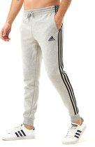 Adidas Essentials 3-Stripes Fleece Joggingbroek Grijs Heren