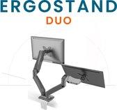 """RIVO Ergonomics - ErgoStand Duo - Ergonomische monitor arm met gasveer voor 2 schermen tot 32"""" / 8kg per arm"""