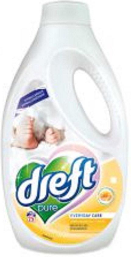 Dreft Vloeibaar Wasmiddel - Pure - Newborn - Pasgeboren Baby - Hypoallergeen - 4 x 1,375 Liter - 100 Wasbeurten - Voordeelverpakking