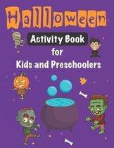 Halloween Activity Book for Kids and Preschoolers