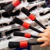 Auto Auto Detailing Brush Set  - Automotive Detail Cleaning Borstels voor het reinigen van wielen, motor, interieur, emblemen, interieur, exterieur, luchtopeningen