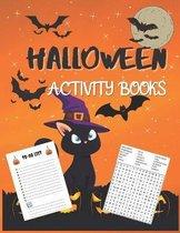 Halloween Activity Books