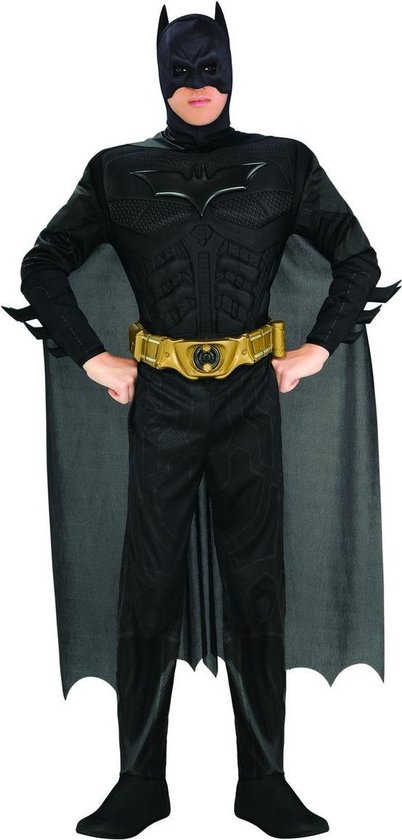 Batman Deluxe - Kostuum - Carnavalskleding - Volwassenen - Maat M