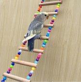 Vogel ladder/loopbrug   vogel Speelgoed   Huisdieren   vogel schommel -vogel ladder -parkiet ladder - parkiet speelgoed -vogel brug -vogel hangmat -speelgoed voor vogels  Dierendag   Geschenk   Cadeau   Gift   Papegaai   Zitplank   Hanger  31 x 12 cm