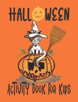 Halloween Activity Book For Kid