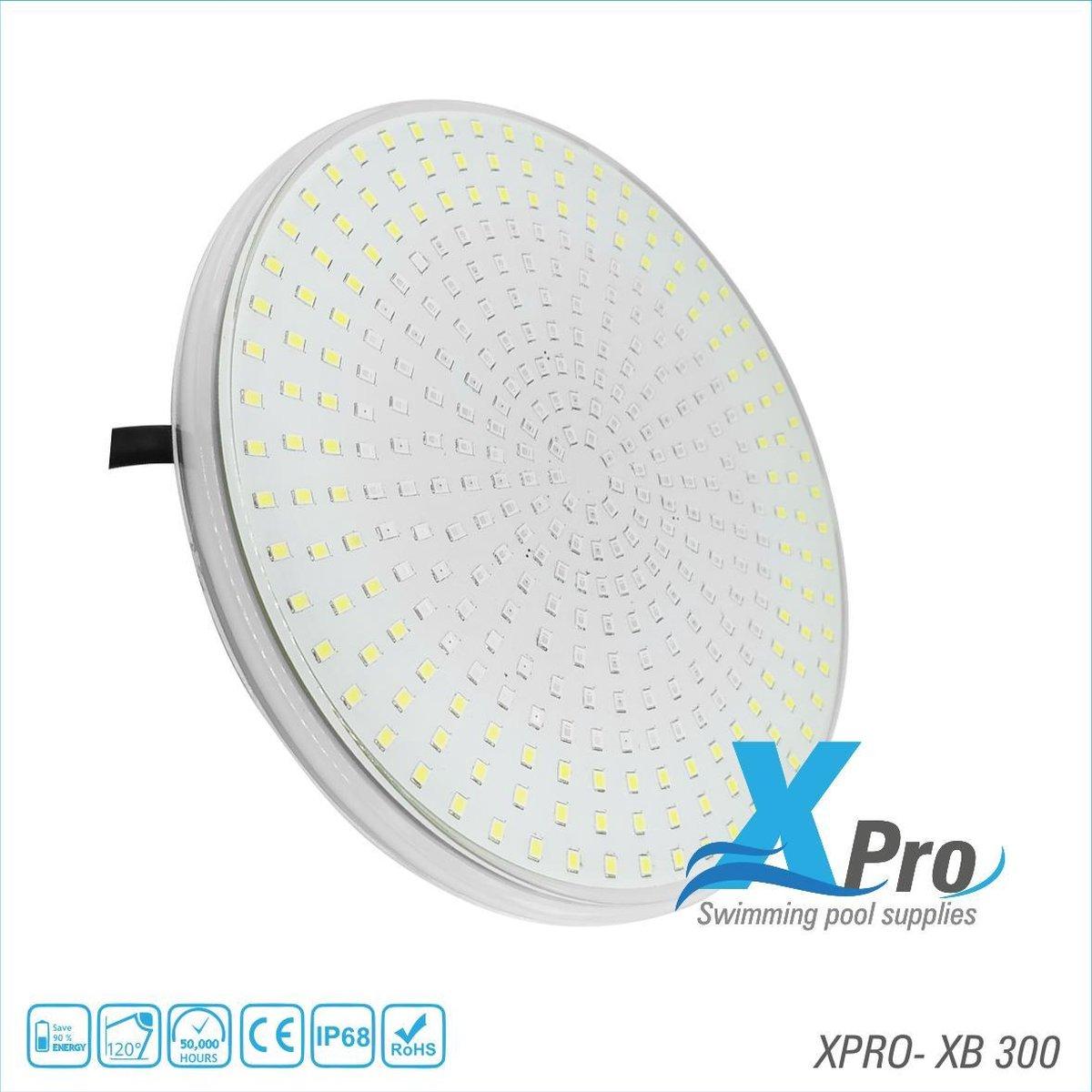 XPRO POOL | Led Zwembad Lamp | Warm wit | 501 LEDS | 35 Watt | PAR56