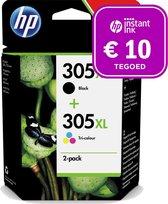 HP 305XL - Inktcartridge kleur & zwart + Instant Ink tegoed