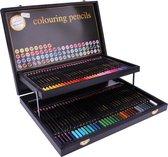 Professionele kleurpotloden in stijlvolle potlodendoos | 68-delig | Craft Sensations - Kleurpotloden voor volwassenen