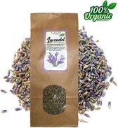 Gedroogde Lavendel bloemen 150 gram - Biologisch - Thee - Potpourri - Pure Naturals