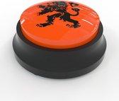 Soundbutton Oranje, EK / WK Voetbal - sound button / knop met geluid - hebbeding, kantoorartikel