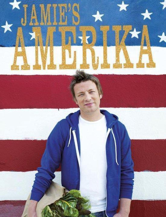 Boek cover Jamies Amerika van Jamie Oliver (Hardcover)