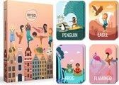 IMYOGI yoga kaarten voor kinderen - kinderyoga kaarten - kindercadeautje - yoga mat accessoires - yoga boek - kaartspel - kids yoga cards