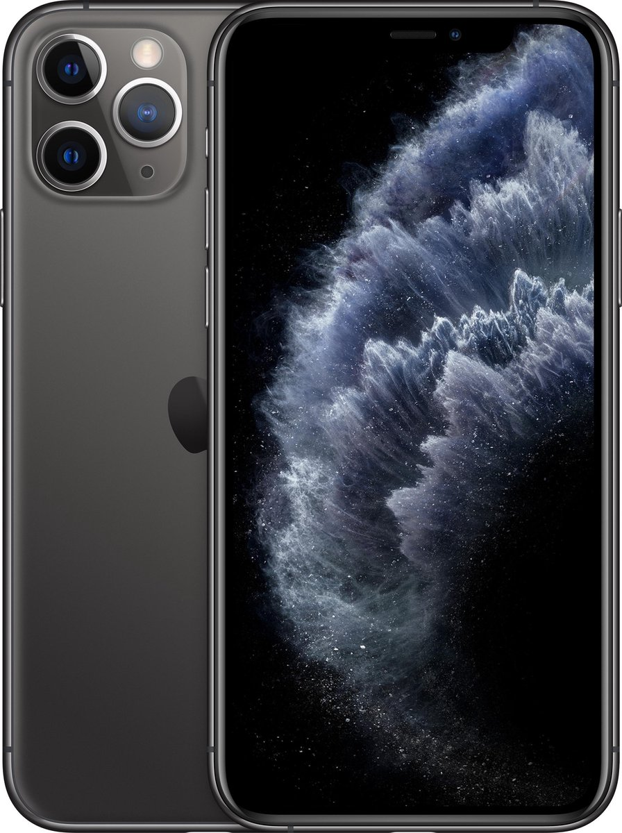 Forza Refurbished Apple iPhone 11 Pro 64GB Space Grey - Zo goed als nieuw