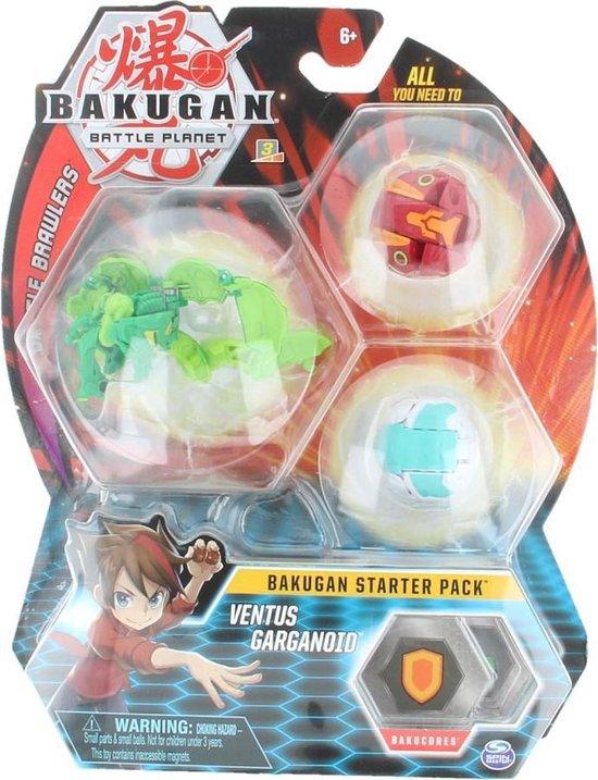 Afbeelding van het spel Bakugan Starter Pack Ventus Garganiod