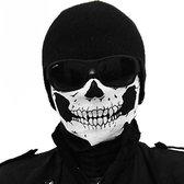 Doodshoofd schedel masker - Halloween masker - Skull mask - Scream masker - col / sjaal - Motor masker - Motormasker - Skimasker - Motorsjaal - Snowboarden - Universeel