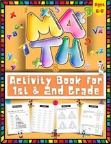 Math Activity Book For 1st and 2nd Grade