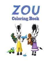 Zou Coloring Book