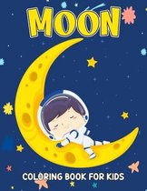 Moon Coloring Book for Kids