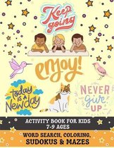 Activity Book For Kids 7-9 Ages