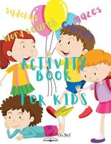 Activity Book for Kids: Big Activity Book for Kids