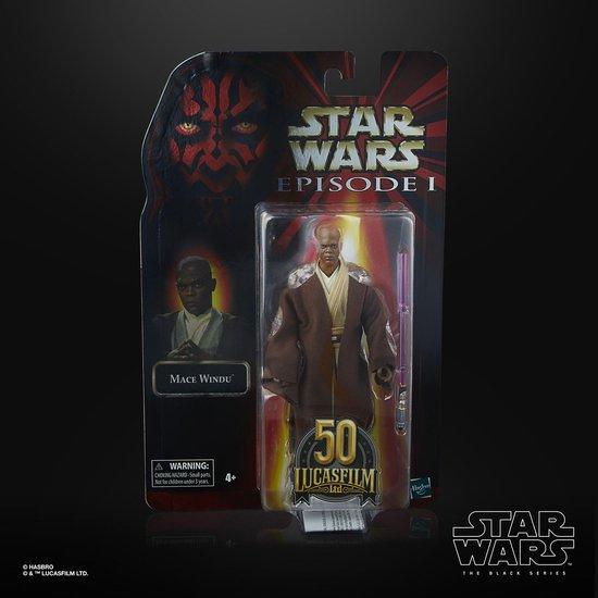 Afbeelding van het spel Star Wars The Black Series Mace Windu LUCASFILM 50TH ANNIVERSARY FIGUR