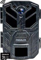 CAMUX Professionele Wildcamera 30MP 4K met Wifi en Bluetooth ondersteuning - Wildlife camera